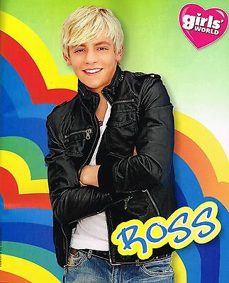 """ROSS LYNCH - ONE DIRECTION - 1D - 11"""" x 9"""" MAGAZINE PINUP - MINI POSTER - 2014"""
