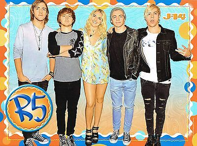 """R5 - ROSS LYNCH - MILEY CYRUS - 11"""" x 8"""" MAGAZINE PINUP - POSTER - TEEN SINGER"""