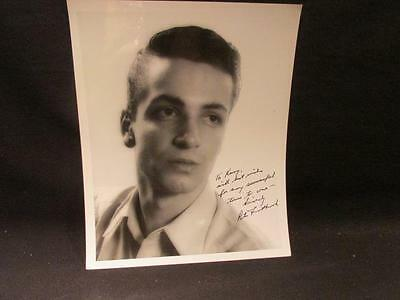Peter ? Ice Performer 8 X 10 Professional B&W Autographed Photograph