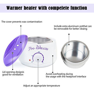 Portable Electric Hair Removal Hot Wax Warmer Paraffin PotSalon Beauty Equipment