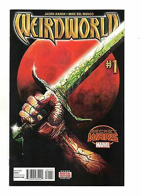 Weirdworld Vol 1 No 1 Aug 2015 (NM) Marvel, Secret Wars, 1st Print