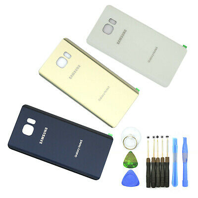 Original Battery Cover Glass Housing Back For Samsung Galaxy Note 5 N920 + Tools