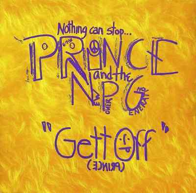 "PRINCE AND THE NEW POWER GENERATION - Gett Off (12"") (VG+/VG-)"
