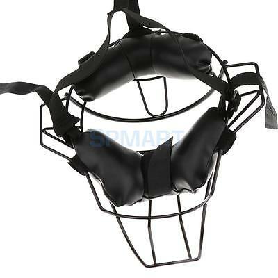 Baseball Softball Adult Catchers Protective Gear Adjustable Soft Face Mask