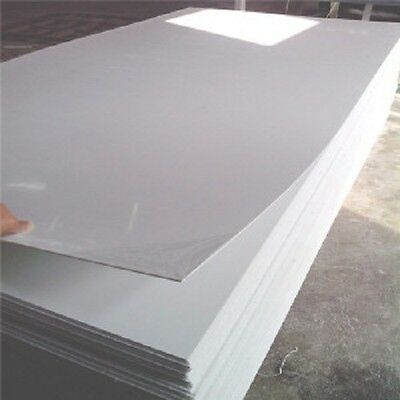 White PVC Hygienic Wall Cladding 2440 x 1220 Sheet 8ft x 4ft Panel Hotel Food mm