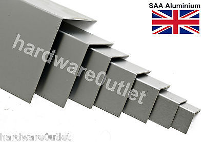 1.2mm Aluminium Folded Angle Corner Protector 10 Sizes & 15 Lengths available