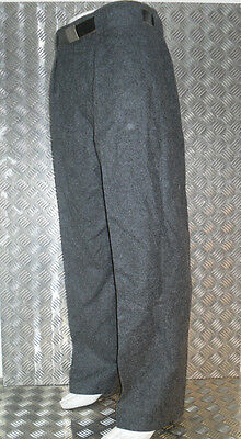 Genuine Vintage Grey Danish Military CD 1950/60's Wool Trousers All Sizes - Used