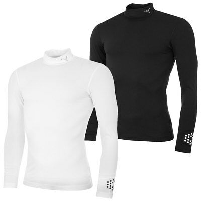 Puma Golf 2016 Mens DryCell Baselayer Mock Stretch Long Sleeve Top 570105