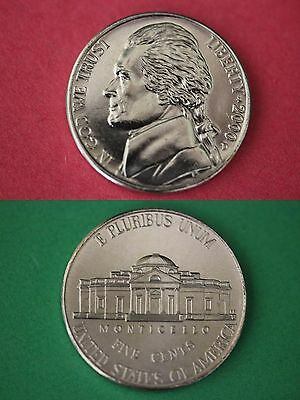 2000 D Jefferson Nickel Brilliant Uncirculated From Mint Set Buy 1 Get 1 FREE