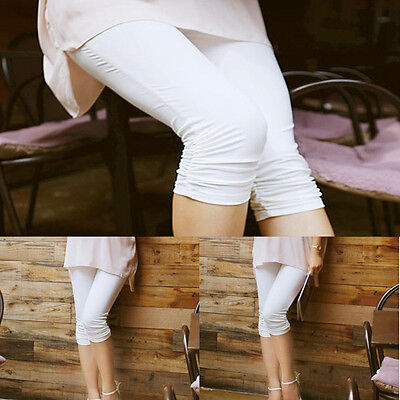 Fashion Women Pregnant Pants Elastic Cotton Maternity Leggings Trousers
