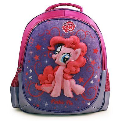 My Little Pony Deluxe 3D School Backpack Large 16 Bag Rucksack Official