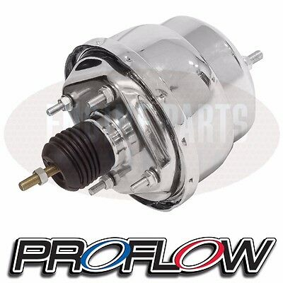 "PROFLOW Dual Diaphragm Brake Booster 8"" CHROME PPFEBB8531CH"