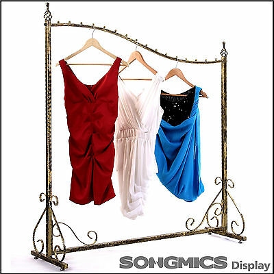 Songmics New Garment Clothes storage rack rail Hanger retail display HRA001