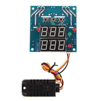 AC/DC 12V Digital Intelligent Temperature and Humidity Control Controller Module