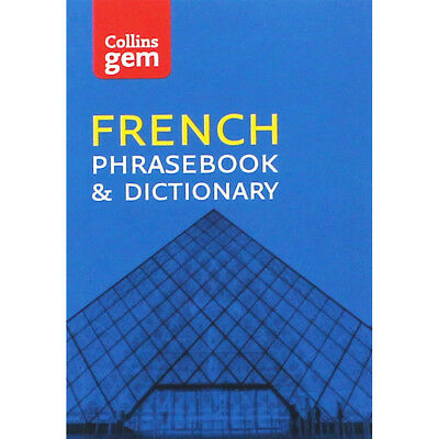 Collins Gem French Phrasebook and Dictionary (Paperback), Back to School, New