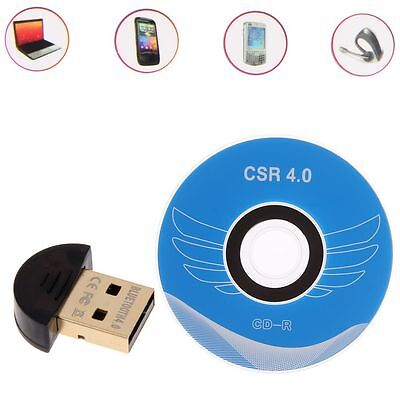Bluetooth V4.0 USB Wireless Dongle Adapter EDR For PC Laptop Computer Desktop