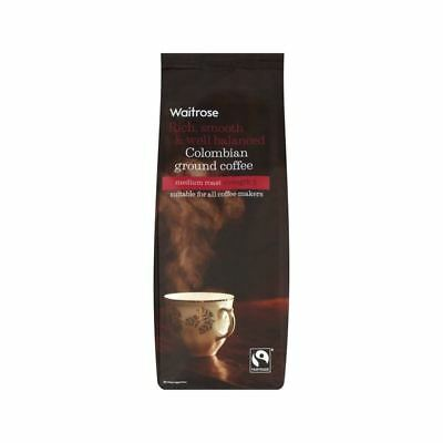 Rich, Smooth & Well Balanced Colombian Ground Coffee Waitrose 454g