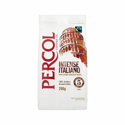 Percol Fairtrade Italiano Ground Coffee 200g