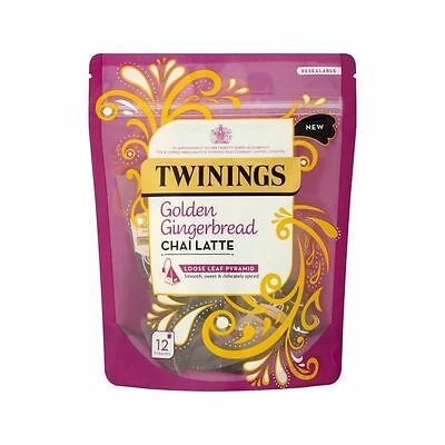 Twinings Gingerbread Chai Latte 12 per pack