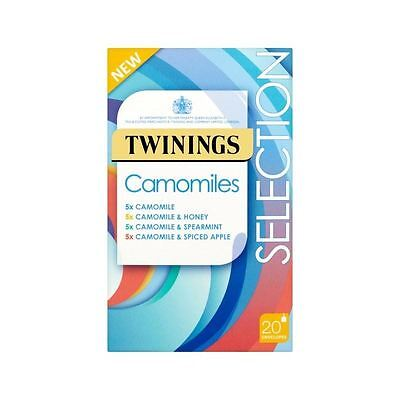Twinings Camomile Selection Pack 20 per pack