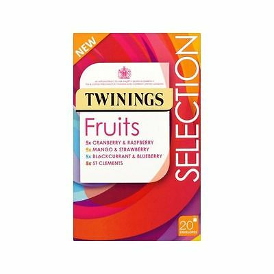 Twinings Fruit Selection Pack 20 per pack