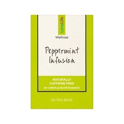 Peppermint Infusion Waitrose Love Life 40g