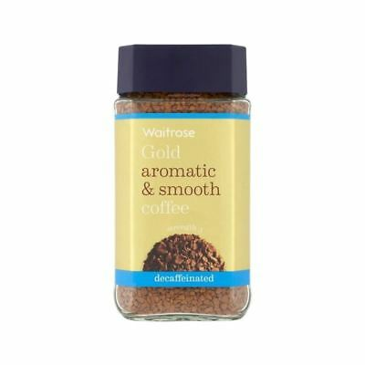 Gold Decaffeinated Freeze Dried Waitrose 100g