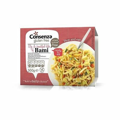 Consenza Gluten Free Oriental Bami Noodles Ready Meal 300g