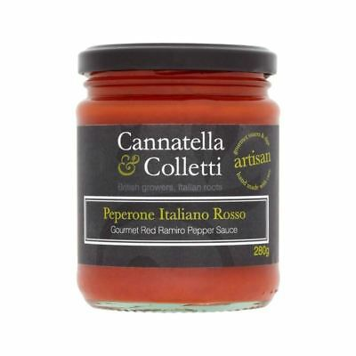 Cannatella & Colletti Sweet Ramiro Pepper Sauce 280g