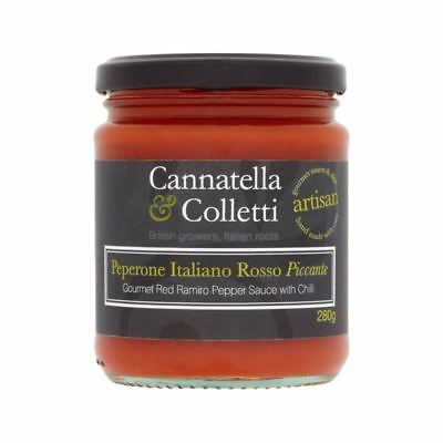 Cannatella & Colletti Sweet Ramiro Pepper Sauce With Chilli 280g