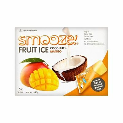 Smooze Mango Fruit Ice Lollies 5 x 65ml