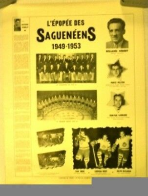 1949-53 Chicoutimi Sagueneens Poster