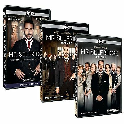 Mr. Selfridge 1-3 Die Komplette Dvd Staffel / Season 1 2 3 Deutsch