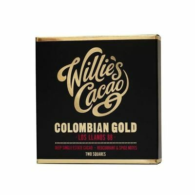 Willie's Cacao Colombian Gold Dark Chocolate 88% 80g