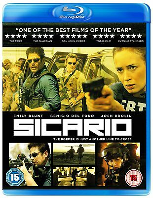 Blu-Ray  Sicario           Brand New Sealed Genuine Uk Stock
