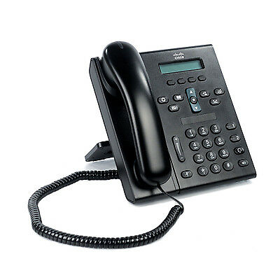Cisco CP-6921 Unified IP Business Phone 2-Line w/ Stand and Handset CP-6921-C-K9