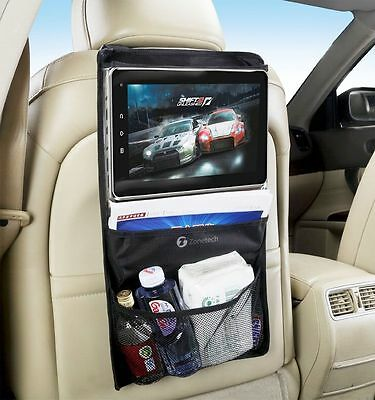 Zone Tech Car Back Seat Tablet Organizer Ipad Case Sleeve Pouch Drive Holder Bag