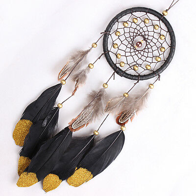 Handmade Dream Catcher with Feathers Wall Hanging Decoration Ornament Craft Gift