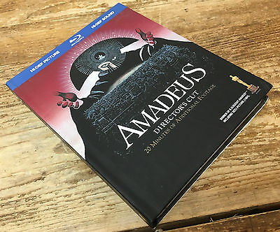 Amadeus Blu-ray Disc 2009 2-Disc Set Bonus CD Opera Comic Biography Tom Hulce