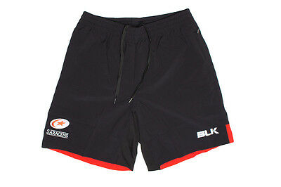BLK Saracens 2016/17 Players Rugby Gym Shorts