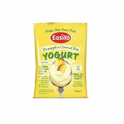 Easiyo Pineapple & Coconut with Bits Premium Yoghurt Mix 230g