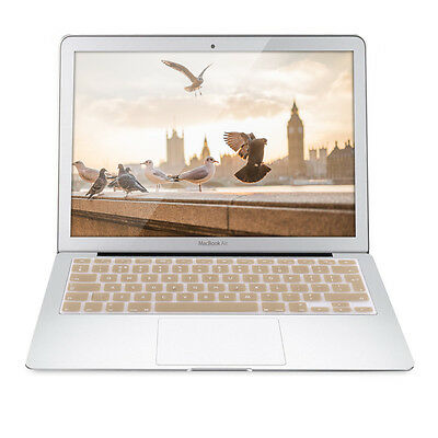 kwmobile TASTATURSCHUTZ QWERTY UK FÜR APPLE MACBOOK AIR 13'' PRO RETINA 13''