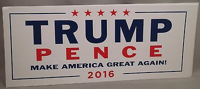 Wholesale Lot Of 20 Trump Pence Official Make America Great Again Sticker 2016 W