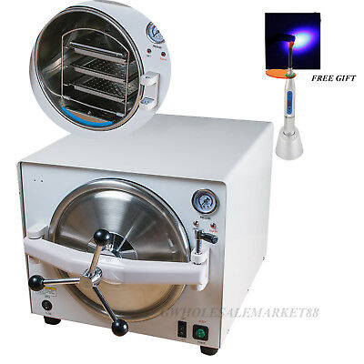 CE FDA 18L Dental Medical autoclave Steam Pressure Sterilizer sterilizition