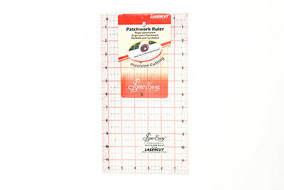 NEW Sew Easy NL4180 | Acrylic Patchwork Ruler | 12 x 6½in | Quilting | FREE POST