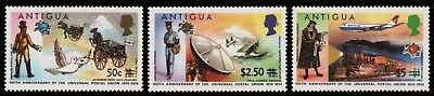 Antigua 1975 - Mi-Nr. 355-357 ** - MNH - Transport - UPU