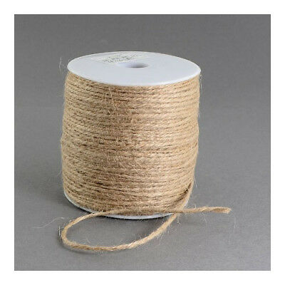 1 x Beige Hemp 10m x 2mm Twine Cord Continuous Length Y05055