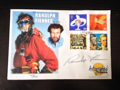Ranulph Fiennes - Intrepid Explorer - Signed Autographed Editions F.d.c.