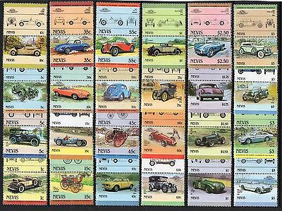 MOTOR CARS Thematic STAMPS c1980 90s NEVIS Ref:TH657