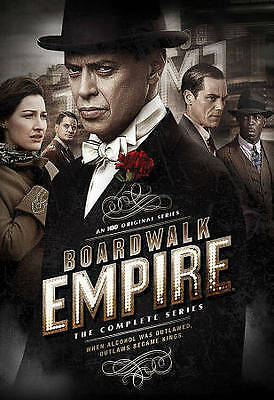 Boardwalk Empire The Complete Series DVD seasons 1,2,3,4,5 Box Set New Sealed